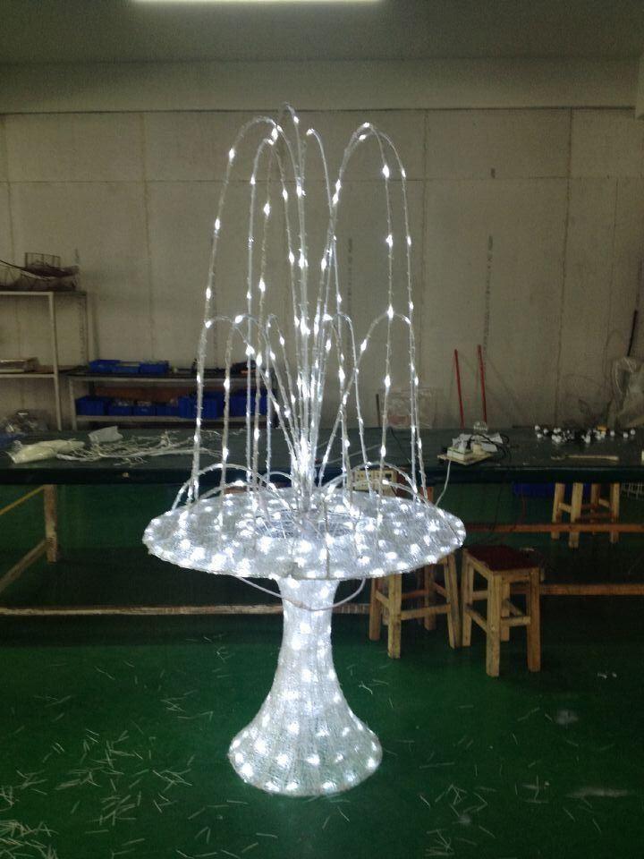 Christmas Decoration LED Fountain Motif LED Decoration Light