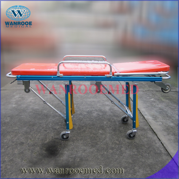 High Quality Aluminum Alloy Folding Ambulance Stretcher