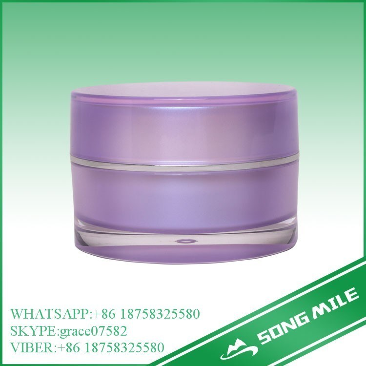 30g Facial Use Frosted PP Cosmetic Jar