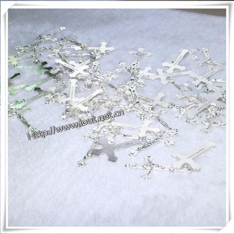 Catholic Rosary Decorative Metal Cross Pendants (IO-ap202)