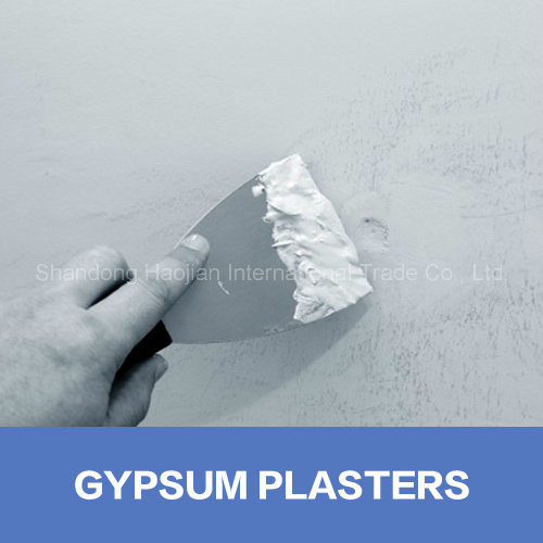 Leveling Gypsum Mortar Additives HPMC Building Materials
