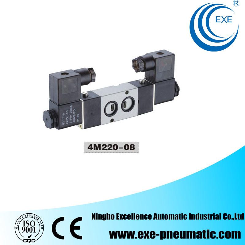 Exe 4m Series Pneumatic Air Valve Solenoid Valve 4m220-08