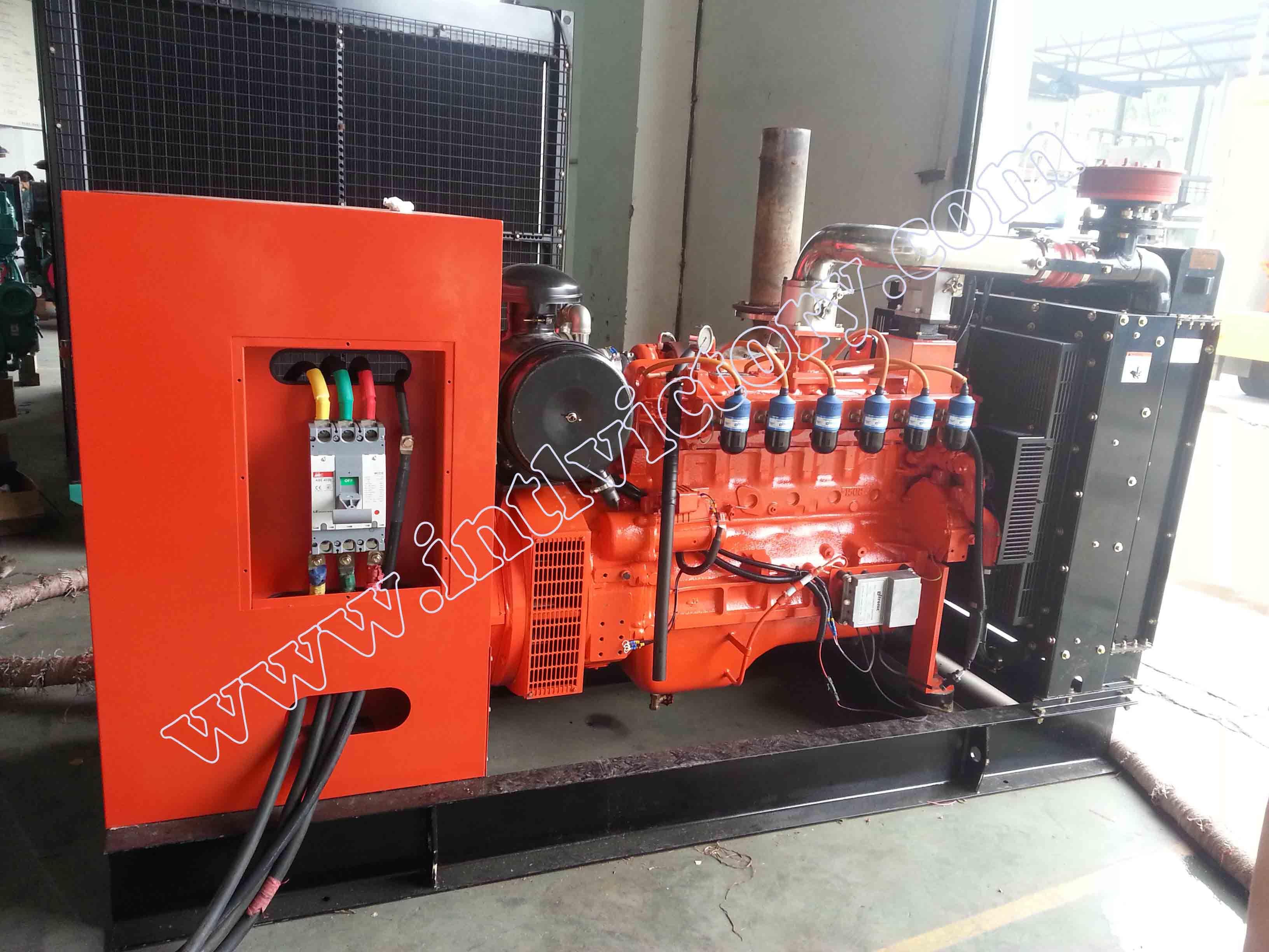 China 200kw 250kVA Daewoo Brand Natural Gas Generator Set s