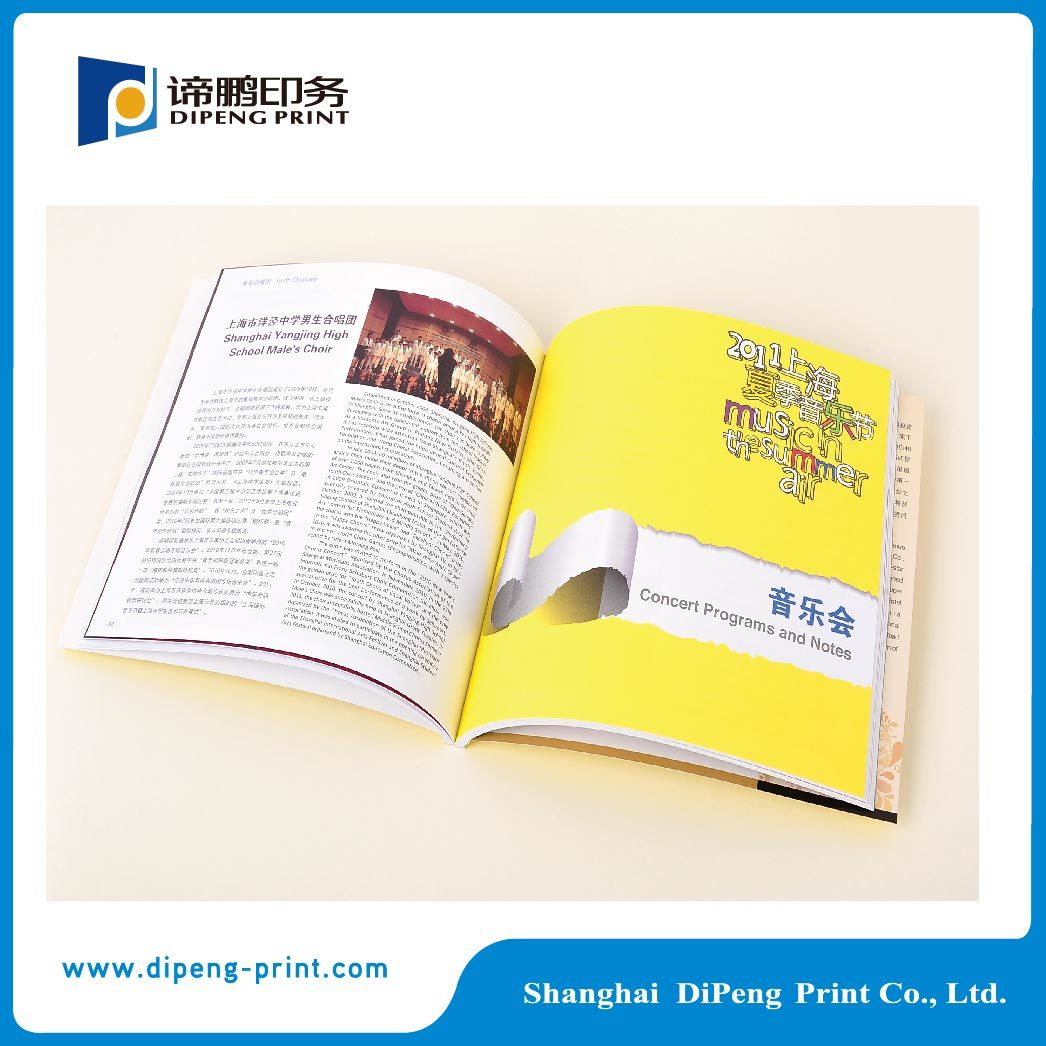 High Quality Catalogue Printing with Best Price (DP-C050)