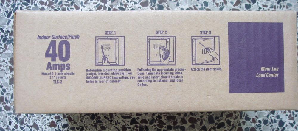 2 Way Distributiion Box