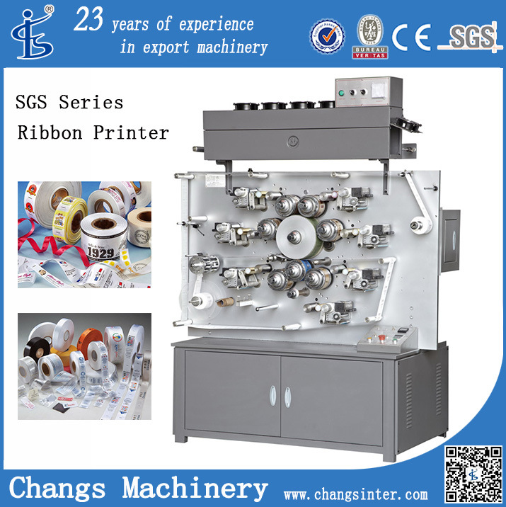 High-Speed Rotary Ribbon Printing Machine (SGS-1004)