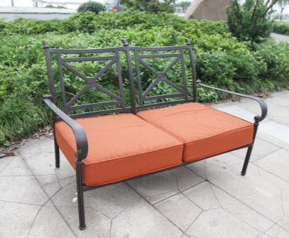 Leisure Outdoor Chat Loveseat Group Furniture
