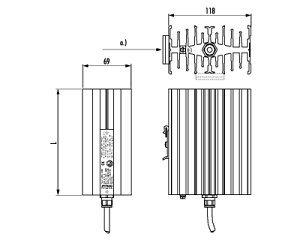 Hazardous Area Heater Crex 020