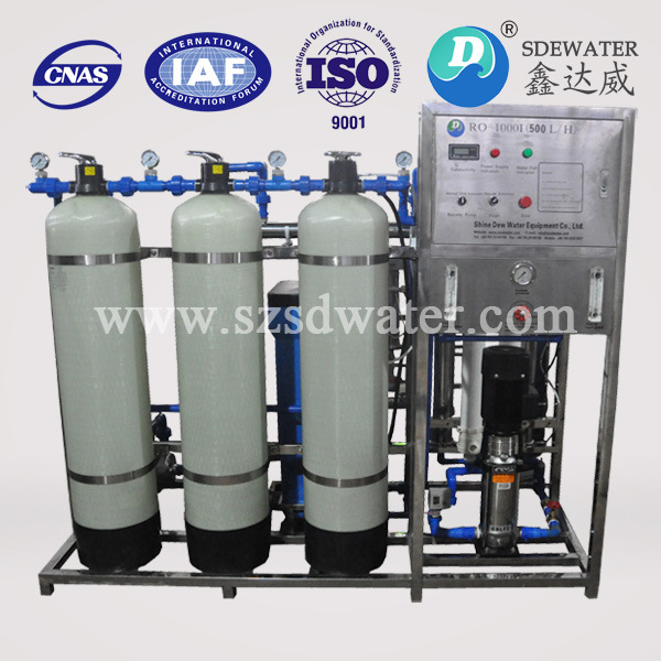 500 L/H High Efficient Reverse Osmosis Water Purification Machine