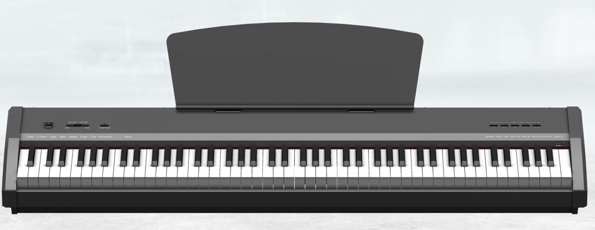 Keyboard Musical Instrument 88 Keys Hammer Action Piano Organ Electric Keyboard