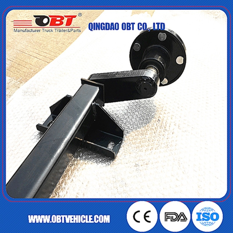500 Kg Rubber Torsion Axle Without Brake