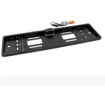 European Foreign Trade License Plate Frame with Lamp on-Board Camera with Four LED Lights