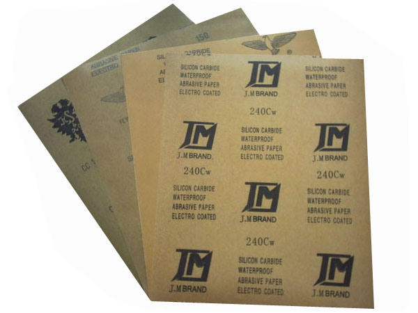 Super Quality Waterproof Abrasive Wholesale Sandpaper