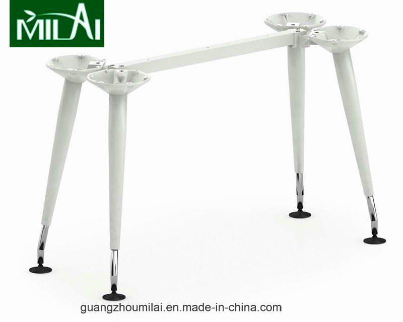 New Arrive Best Quality Metal Office Desk Tea Table with Steel Frame Leg