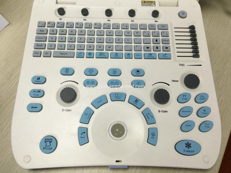 Ce Medical Equipment Digital Diagnosis Color Doppler Portable Ultrasound Scanner