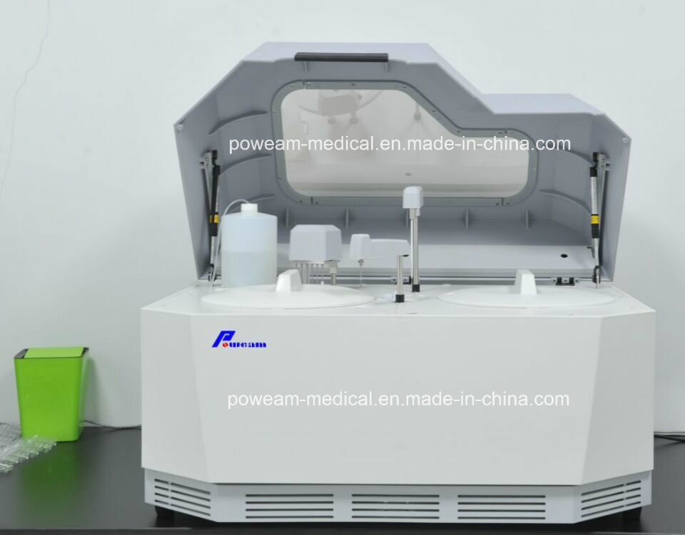 Clinic Laboratory Fully-Automatic Chemistry Biochemistry Analyzer with Touch Screen PC (WHYA8)