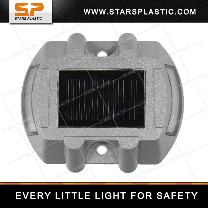 Aluminum IP68 Solar Road Stud with Ce