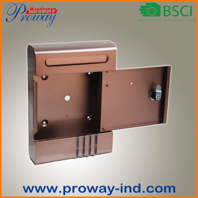Stainless Steel Letter Box with High-End Style
