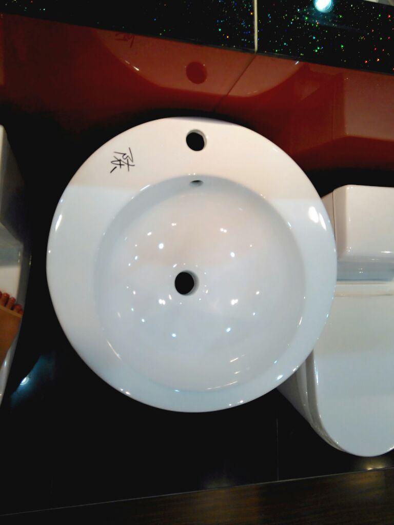 Ceramic Pedestal Basin No. A203 New Model Since 2015