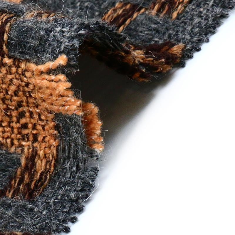 12%Wool 88%Polyester Woolen Fabric for Overcoat