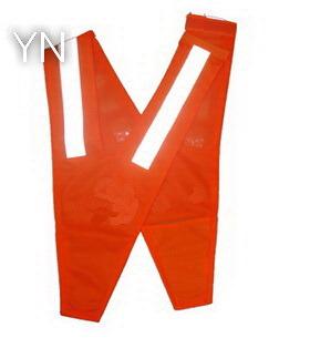 Red V Shape Kids Reflective Safety Vest Children
