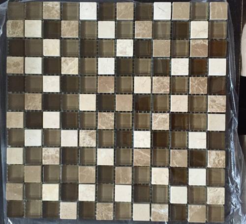 Linear Wall Mosaic/Crystal Mosaic/Glass Mosaic/Stone Mosaic Tile