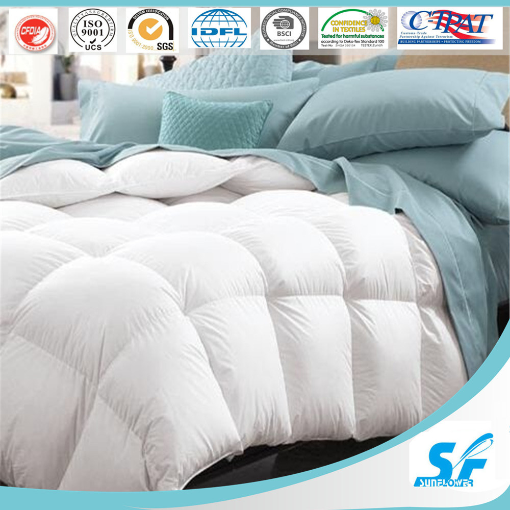 100% 60X60s 280tc Cotton Hotel Bedding Set Comforter Quilt