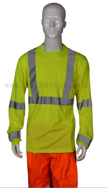 En471 High Visibility Safety Reflective T Shirt