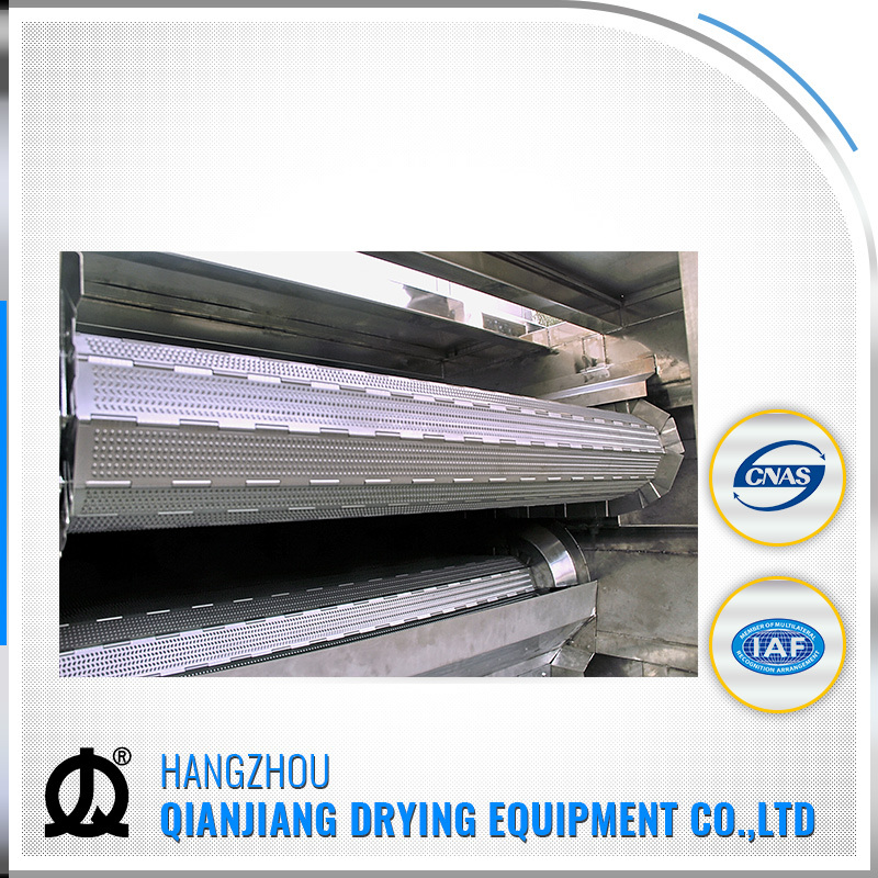 Full Automatic Stainless Steel Conveyor Belt Dryer