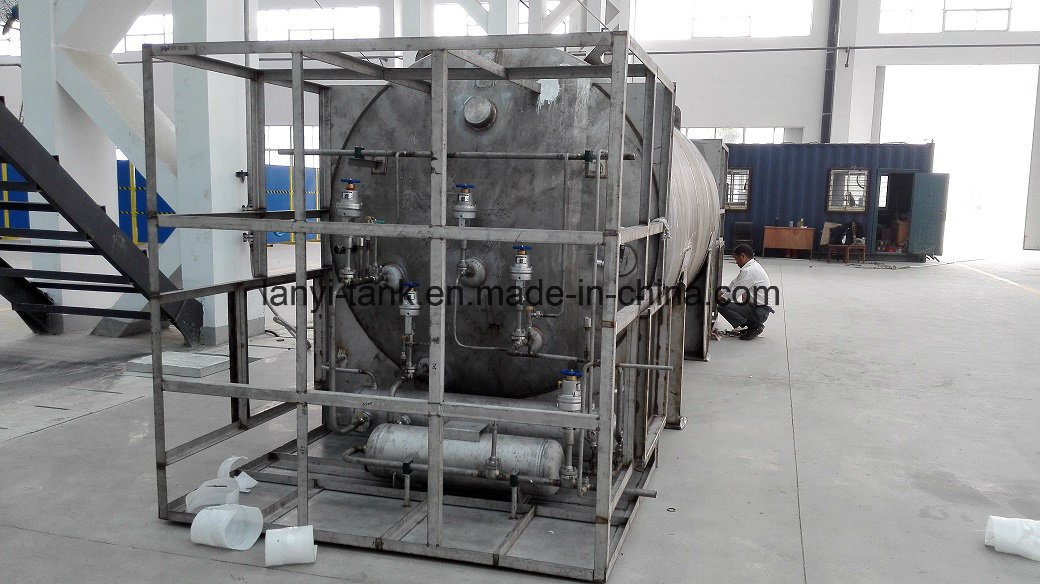 Good Quality Stainless Steel Cryogenic Storage Tank for Ship, Car, Bus