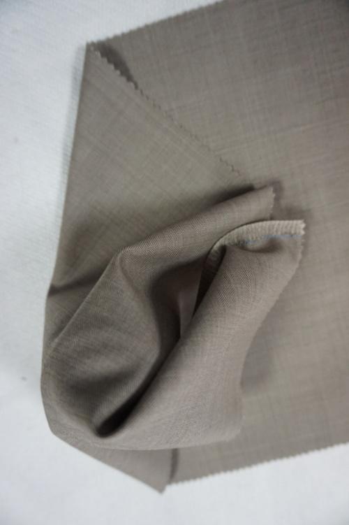 Dark Yellow Worsted Wool Fabric