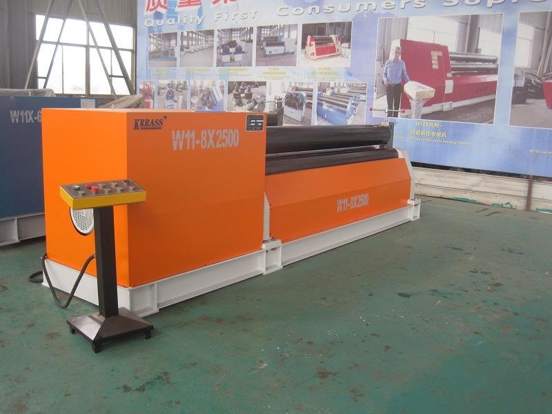 W11 Series Mechanical 3-Roller Rolling Machine