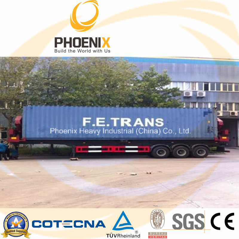 40feet Side Loader Semi Trailer for Lifting and Carrying Container