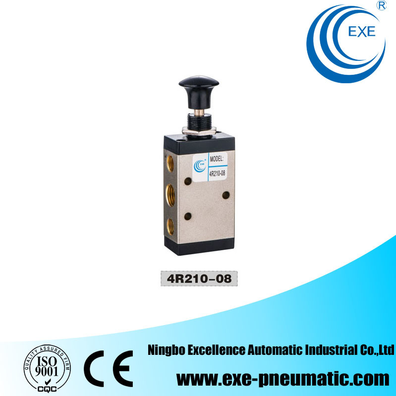 Exe Solenoid Valve 5 Way 2 Position Hand Pull Valve 4r210-08