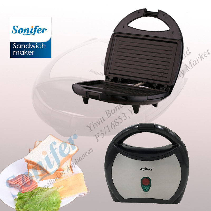 Sandwich Grill Sf-6002 Sandwich Waffler Breakfast Maker