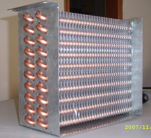 China Commercial Refrigerator Air Cooler Condenser Coil 1