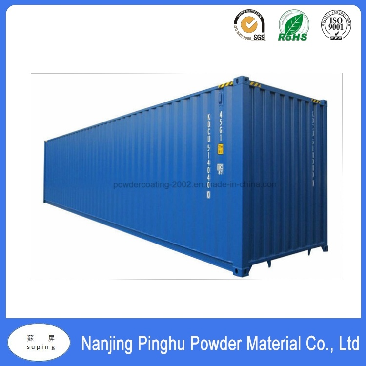 High Quality Blue Textured Powder Coating for Outdoor Use