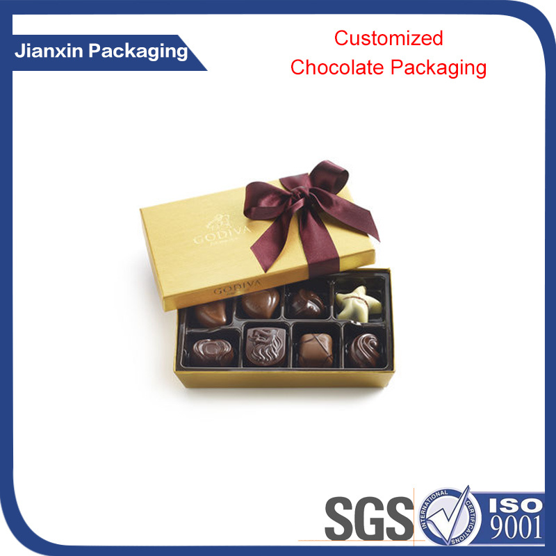 Black Blister Plastic Chocolate PVC/Pet/PS Packing Tray