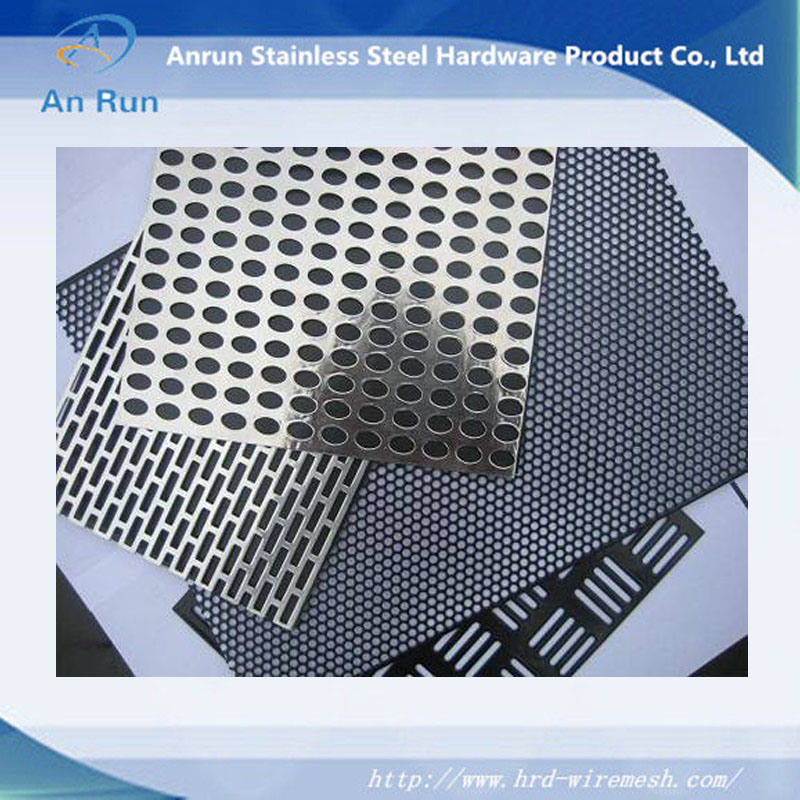 Perforated Metal Mesh Stair Treads