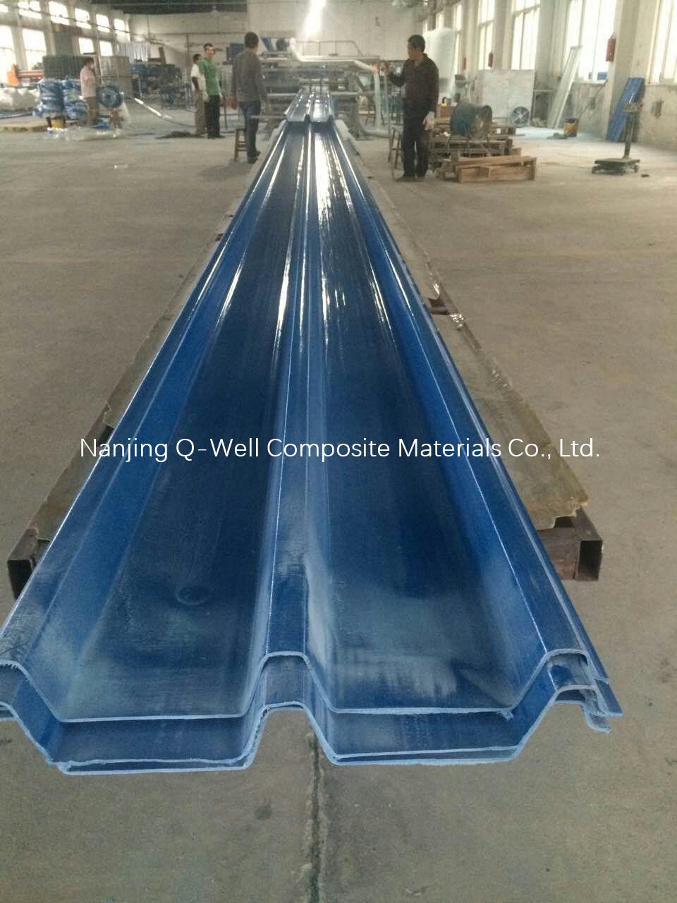 FRP Panel Corrugated Fiberglass/Fiber Glass Color Roofing Panels C172013