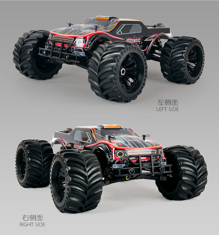 Hot Car 1: 10scale 4WD Remote Control Car Toy, RC Model