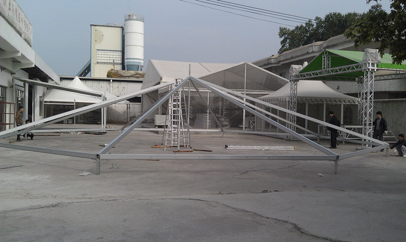 10m Diameter Aluminum Hexagonal Outdoor Events Tent