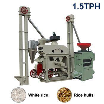 Small Rice Milling Machine-1.5tph