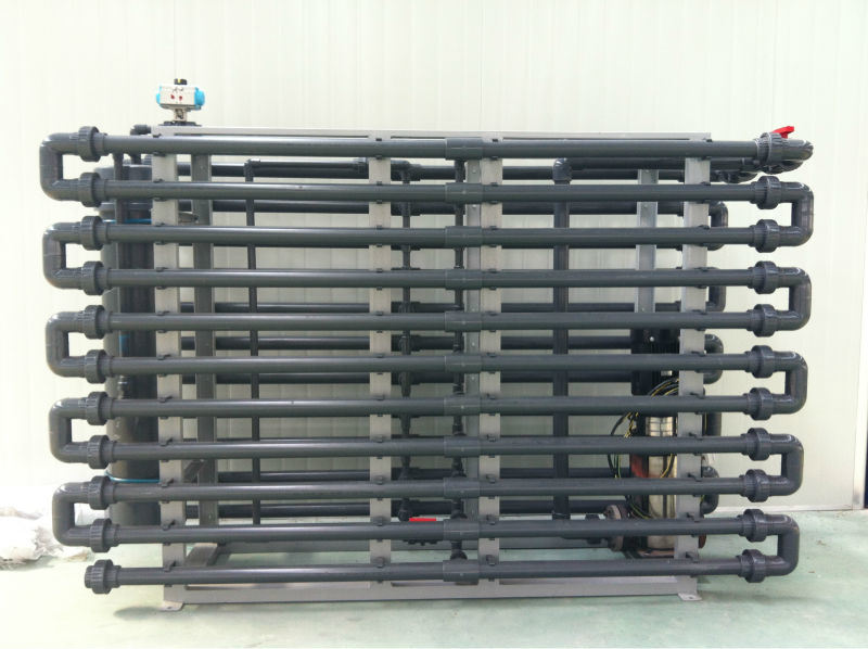 Tubular Microfiltration Membrane System to Deal with Industrial Wastewater