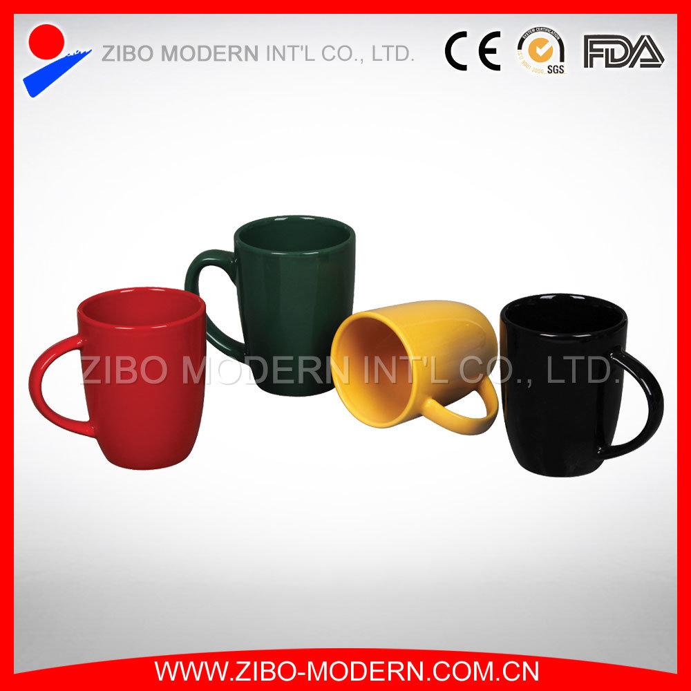 Wholesale Plain White Coffee Tea Mug Ceramic Cup