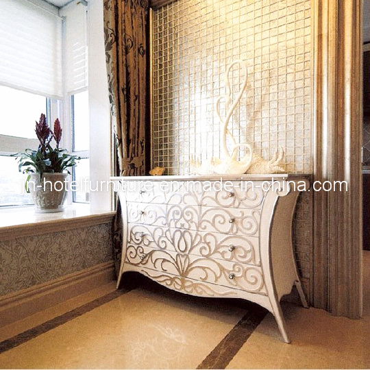 Chinese Wooden Hotel Public Area Console Table