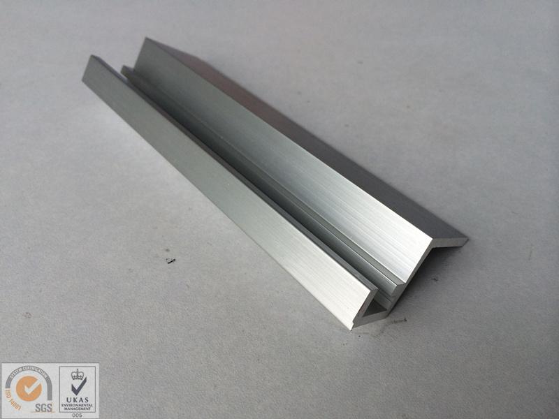Sliver Anodized Aluminium Extrusion