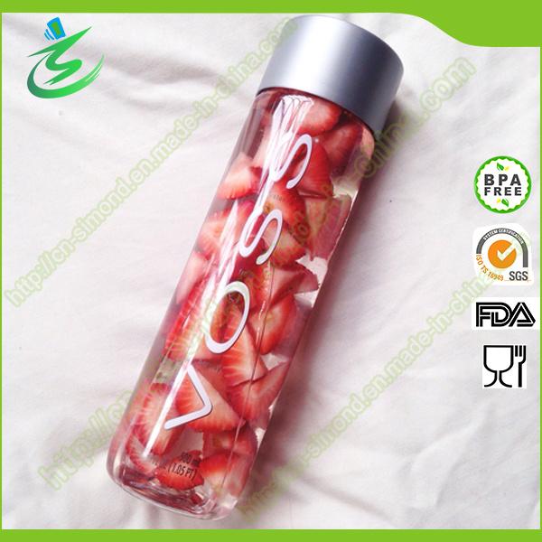 400 Ml Mineral Voss Water Glass Bottle/Voss Water Bottle/Voss Fruit and Beverage Bottle