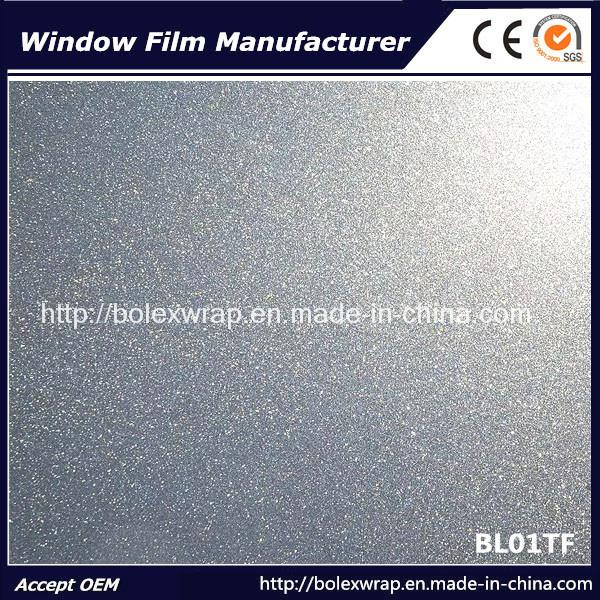 Decorative Window Film Self-Adhesive Sparkle Window Film Sanding Film