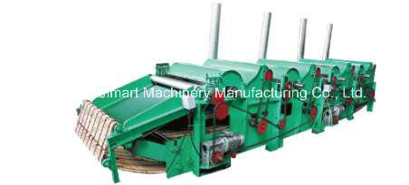 Qt400 Most Popular Waste Clothes Fabric Cotton Rag Processing Machine